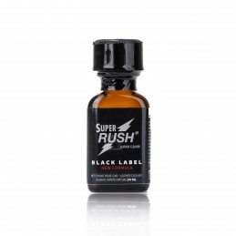 Poppers Super Rush Black Label - 24ml
