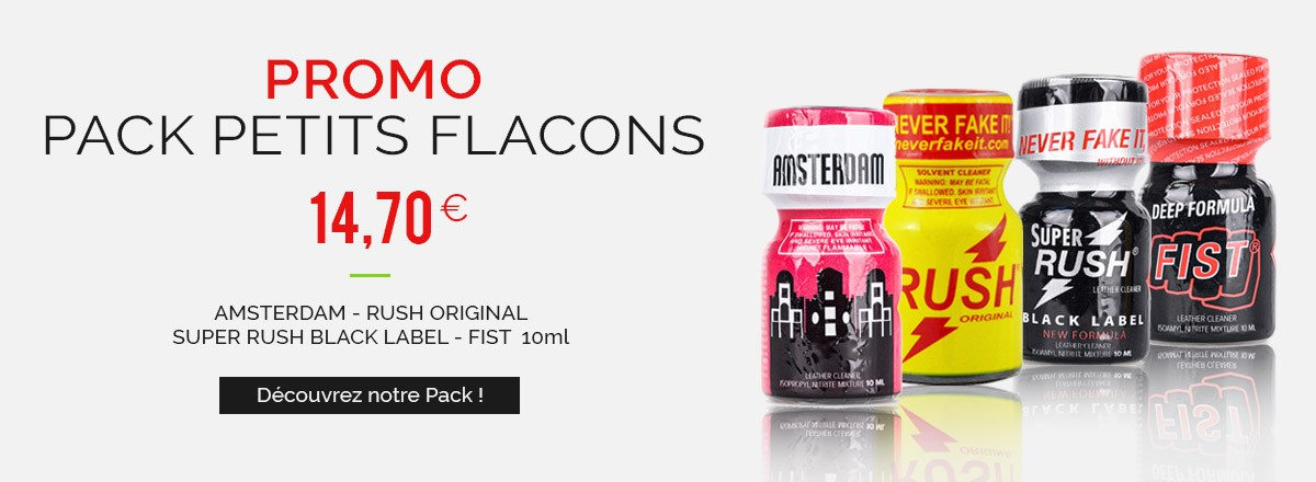 Promotions - Pack Petits Flacons