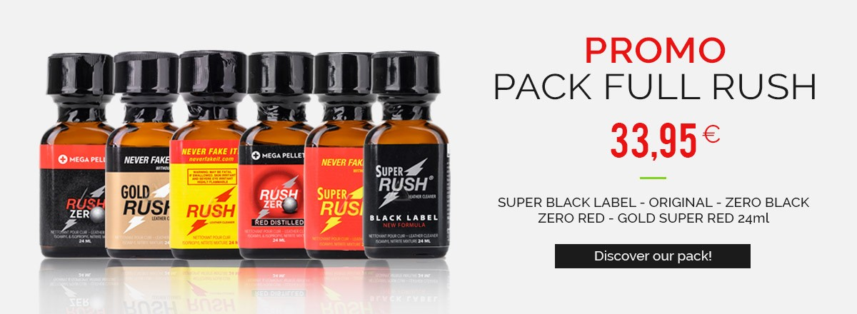 Promo Packs - Rush Original - Rush Gold - Rush Zero - Super Rush - Rush Black Label