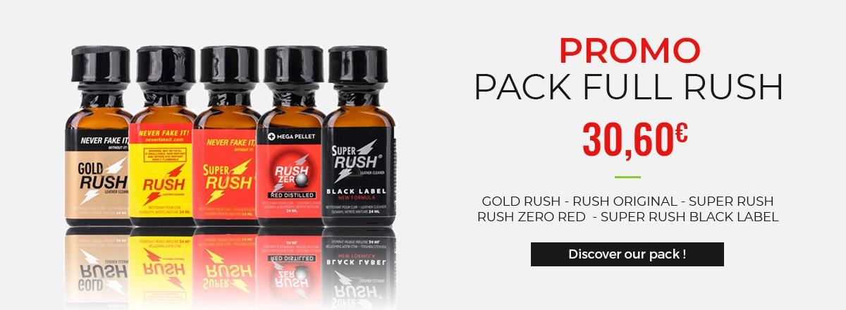 Promo Packs - Rush Original - Rush Gold - Rush Zero - Super Rush - Rush Black Label
